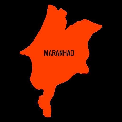 Resultado de imagem para mapa do estado do maranhão