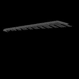 Marimba musical instrument silhouette