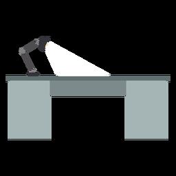 Clipart de mesa de escritório de metal