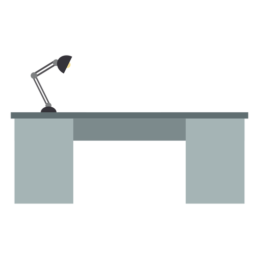Clipart de mesa de escritório de metal Transparent PNG