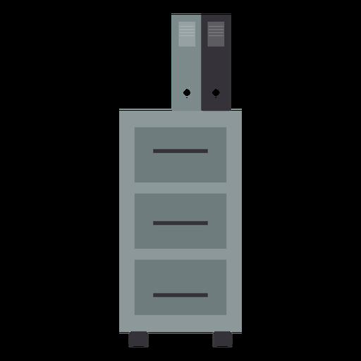 Metal office drawer clipart - Transparent PNG & SVG vector
