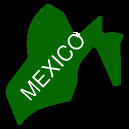 Mapa del estado de mexico