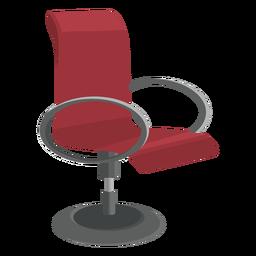 Icono plano de silla de oficina peque a descargar png for Silla oficina moderna