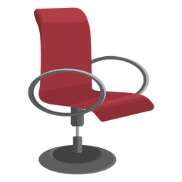 Modern office chair clipart