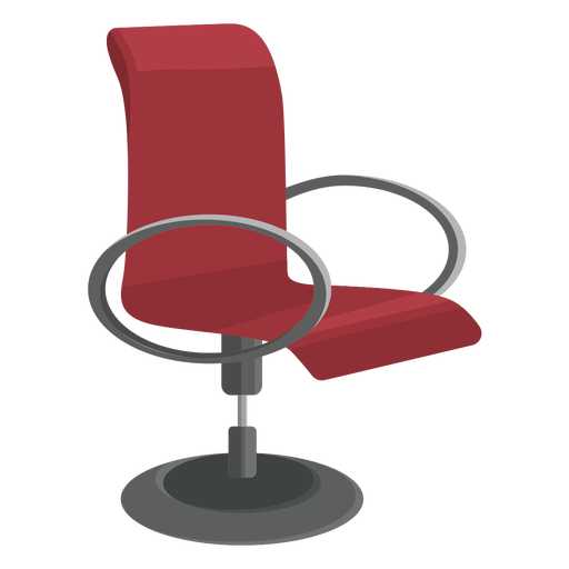 Modern office chair clipart Transparent PNG