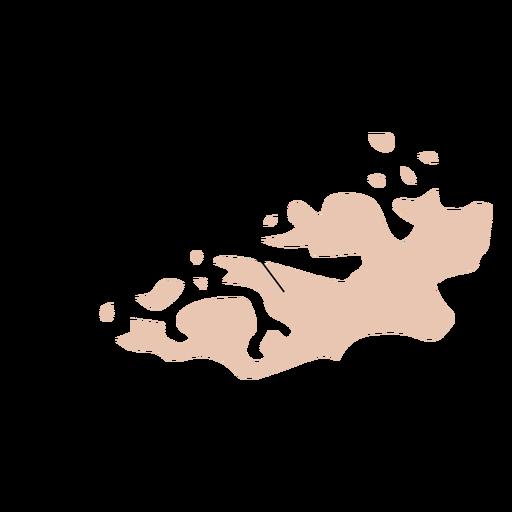 More og romsdal county map