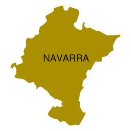 Navarra autonomous community map