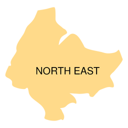 North east district map