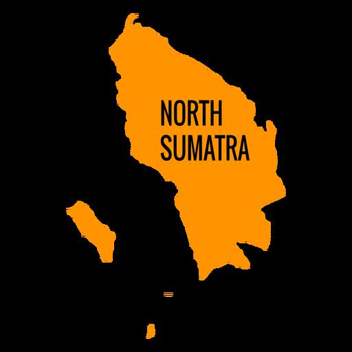 North sumatra province map Transparent PNG