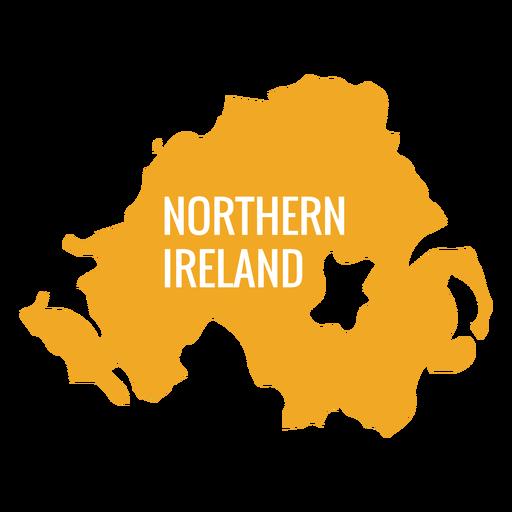Mapa Irlanda Del Norte.Mapa Del Pais De Irlanda Del Norte Descargar Png Svg