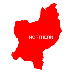 Mapa do distrito do norte de israel