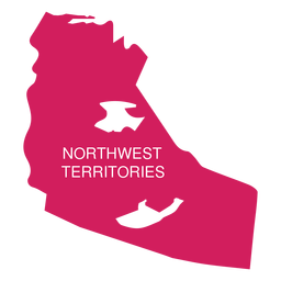 Northwest territories territory map