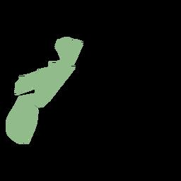 Mapa da província de Nova Escócia