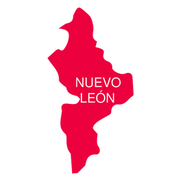 Nuevo leon state map