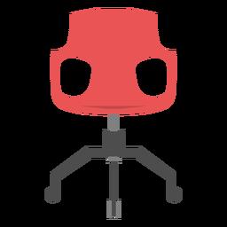 Icono de silla de oficina elementos de oficina