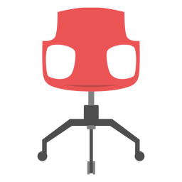 Office chair icon office elements