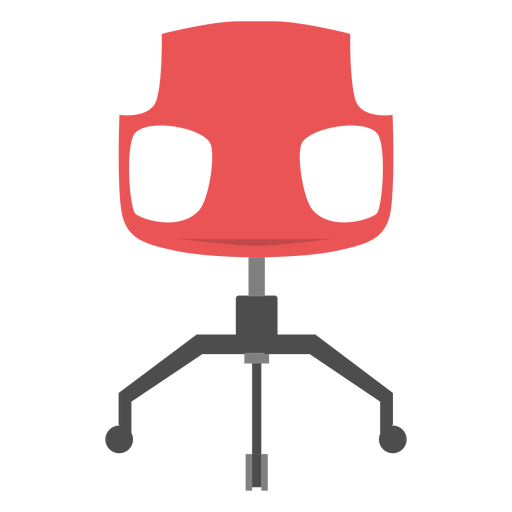 Office chair icon office elements Transparent PNG