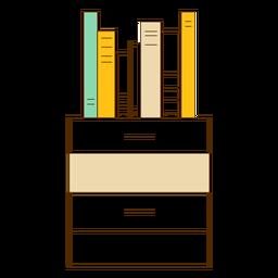 Icono de cajon de oficina