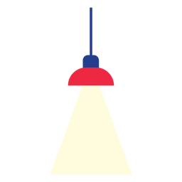 Clipart de lâmpada de suspensão de escritório