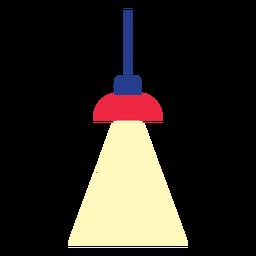 Lámpara colgante de oficina clipart
