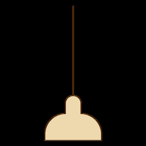 Icono de lámpara colgante de oficina Transparent PNG