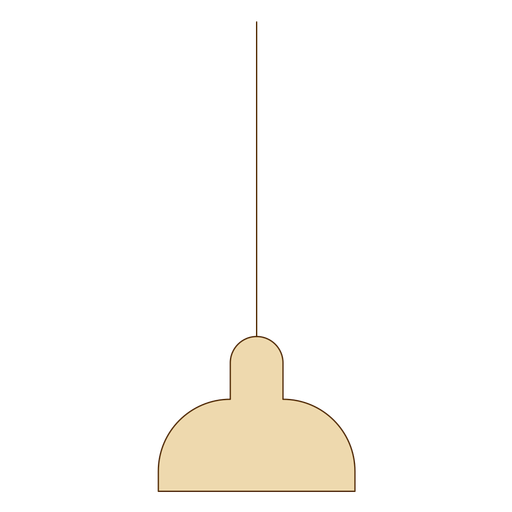 Office hanging lamp icon Transparent PNG