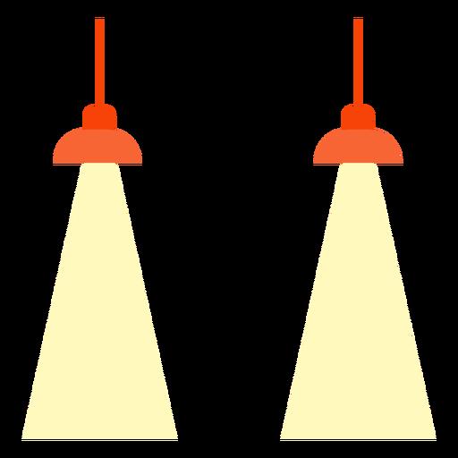 Oficina colgando lámparas de clipart Transparent PNG