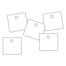 Office sticky notes stroke icon
