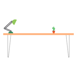 Office table clipart