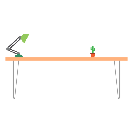 Office table clipart Transparent PNG