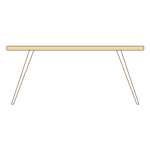 Office table icon Transparent PNG