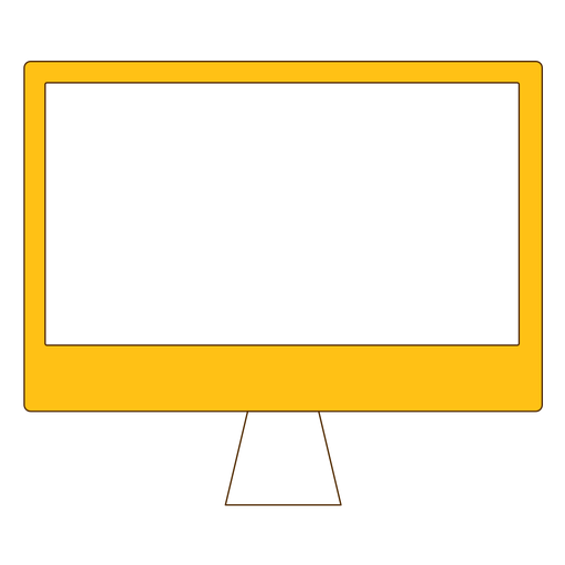 Office tv screen icon Transparent PNG