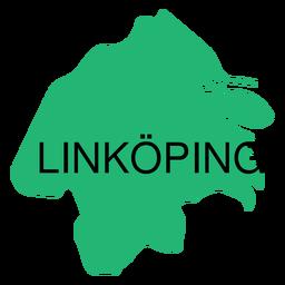 Ostergotland Grafschaftskarte