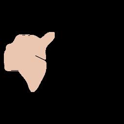 Mapa do condado de Ostfold