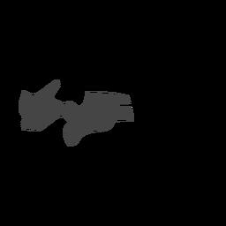 Paraiba state map