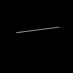 Silhueta de instrumento musical de piano