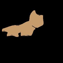 Mapa del estado de rio de janeiro