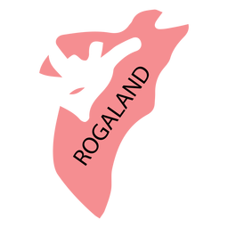 Rogaland county map