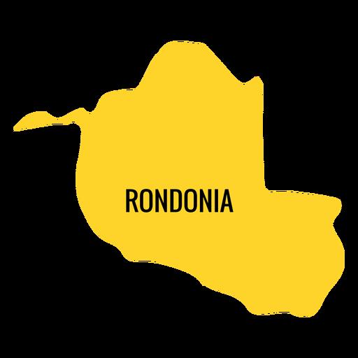 Resultado de imagem para mapa de rondonia
