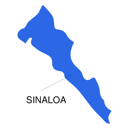 Sinaloa state map