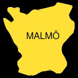 Skane Grafschaftskarte