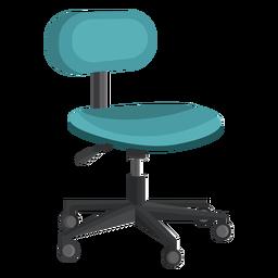 Clipart de cadeira de escritório pequeno