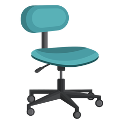 Small office chair clipart