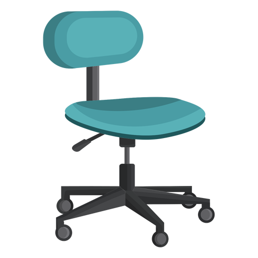 Small office chair clipart Transparent PNG