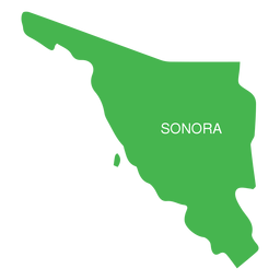 Sonora state map