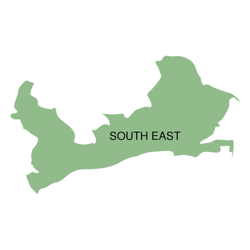 South east district map Transparent PNG
