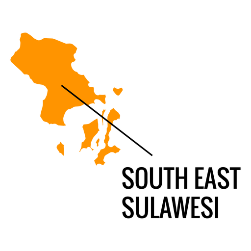 South east sulawesi province map Transparent PNG