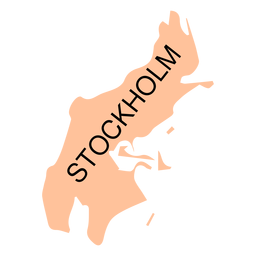 Stockholm county map
