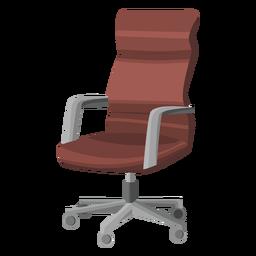 Cadeira de escritório giratória cliparte