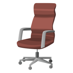 Swivel office chair clipart